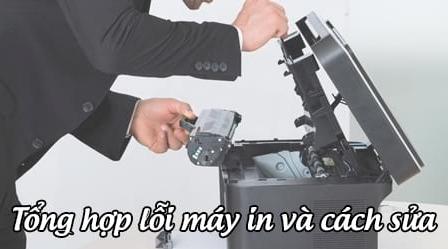 lỗi máy in và cách sửa