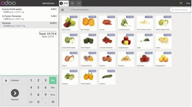 Phần mềm POS tích hợp sẵn hóa đơn kết toán.